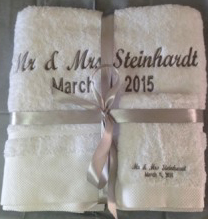 Wedding Towels