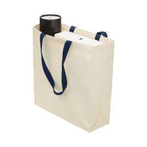 Heavy Duty Canvas Tote with Gusset at Coast Image Wear