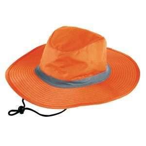 Hi Vis Reflector Safety Hat at Coast Image Wear