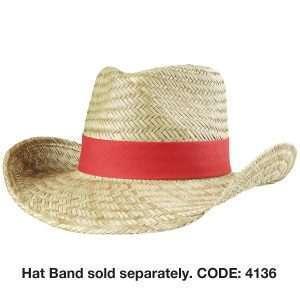 Cowboy Straw Hat at Coast Image Wear