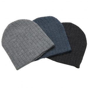 Heather Cable Knit Beanie at Coast Image Wear