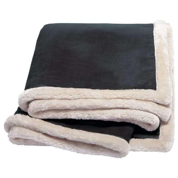 Kanata Faux Leather Throw at Coast Image Wear