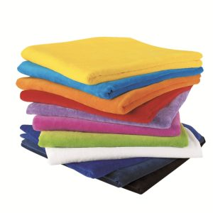 Terry Velour Towel at Coast Image Wear