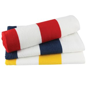 Striped Towel at Coast Image Wear