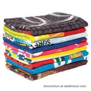 Custom Sublimation Beach Towel at Coast Image Wear