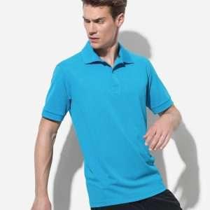 Men's Active Pique Polo at Coast Image Wear