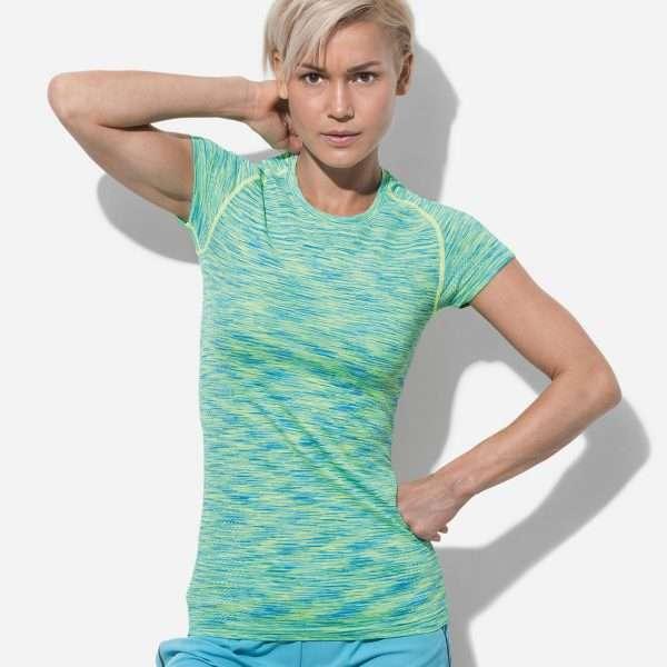 Women's Active Seamless Raglan at Coast Image Wear